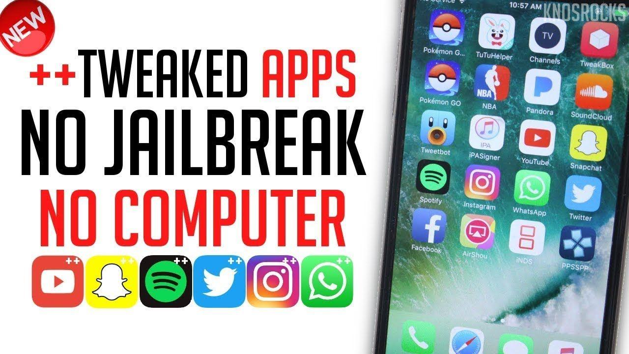 Tweaked ++ Apps and Games without Jailbreak