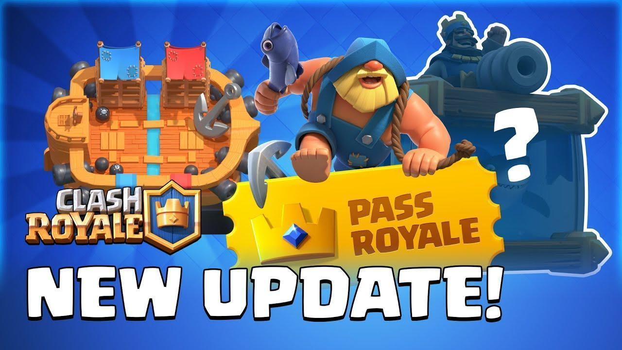 Clash Royale Pass Royale Update