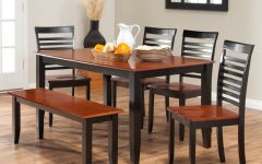 Natural Brown Teak Wood Leather Dining Chairs
