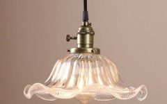 French Style Glass Pendant Lights