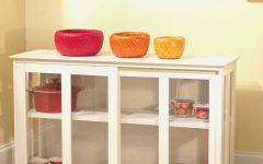 Stylish Glass Buffets and Sideboards