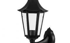 Clarence Black Outdoor Wall Lanterns
