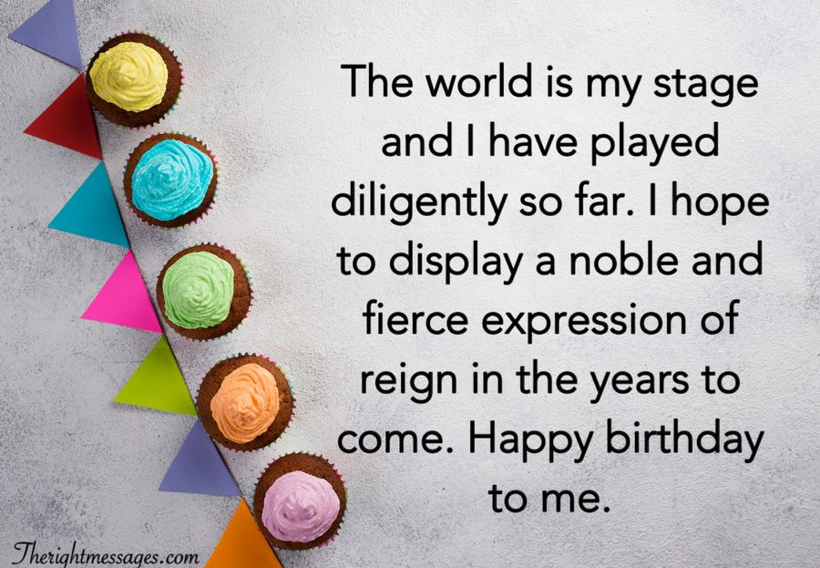 Short Long Birthday Wishes For Myself The Right Messages