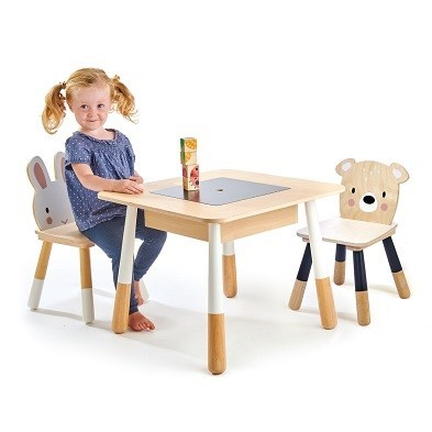 forest table and chair set by Tender Leaf Toys