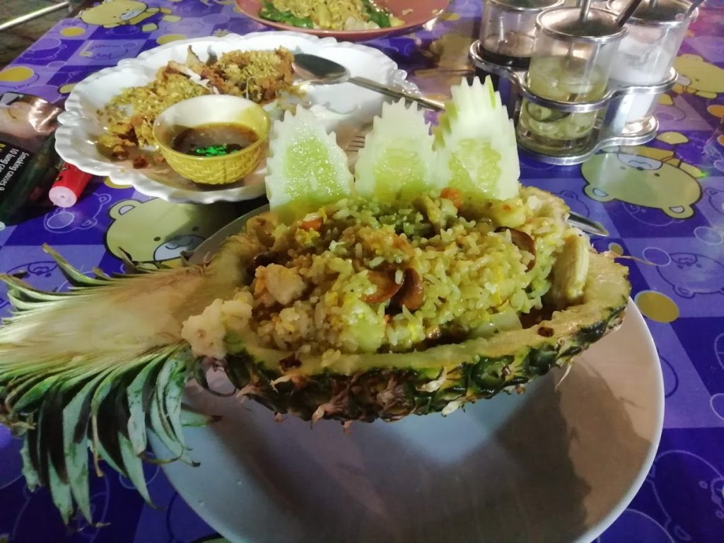 Koh Samui South of Thailand Where to eat Pineapple rice Chaweng The Travel Deck