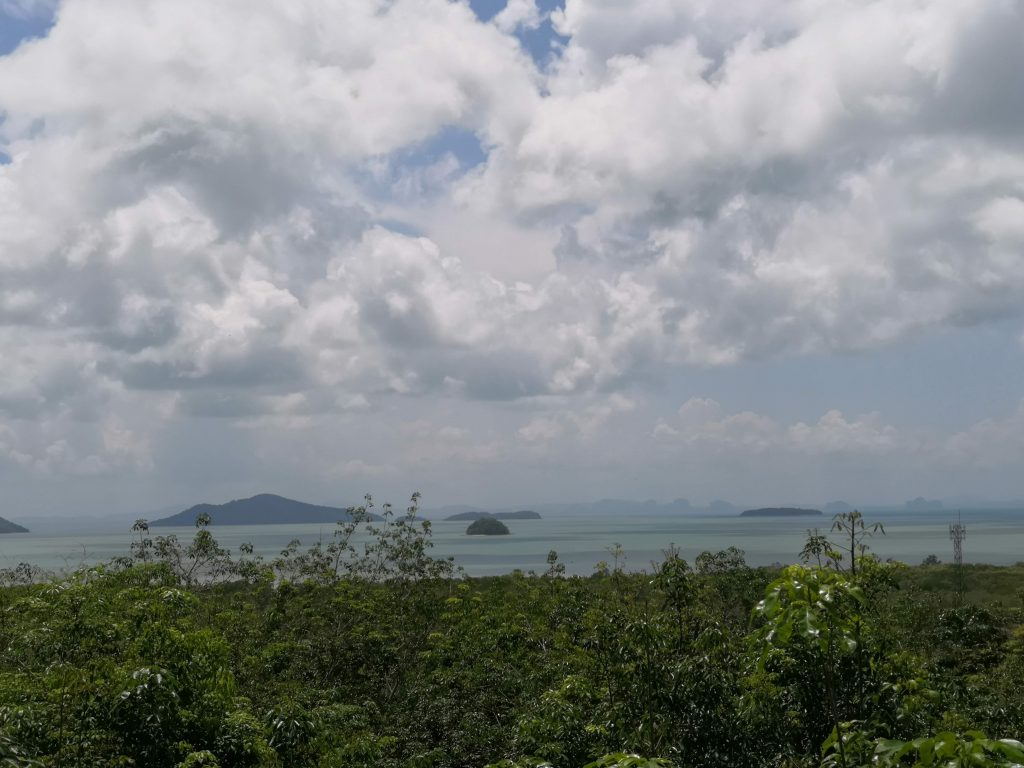 Koh Lanta view from Viewpoint restaurant