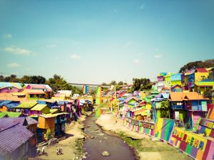 Read more about the article Colorful Village in Malang Indonesia  Kampung Warna Warni