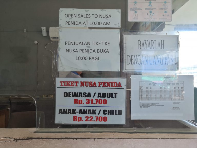 Bali Travel Tips Public Ferry Prices