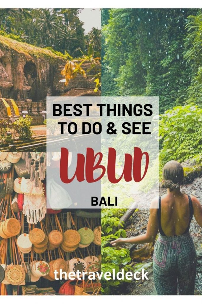 Best Things to do and see in Ubud