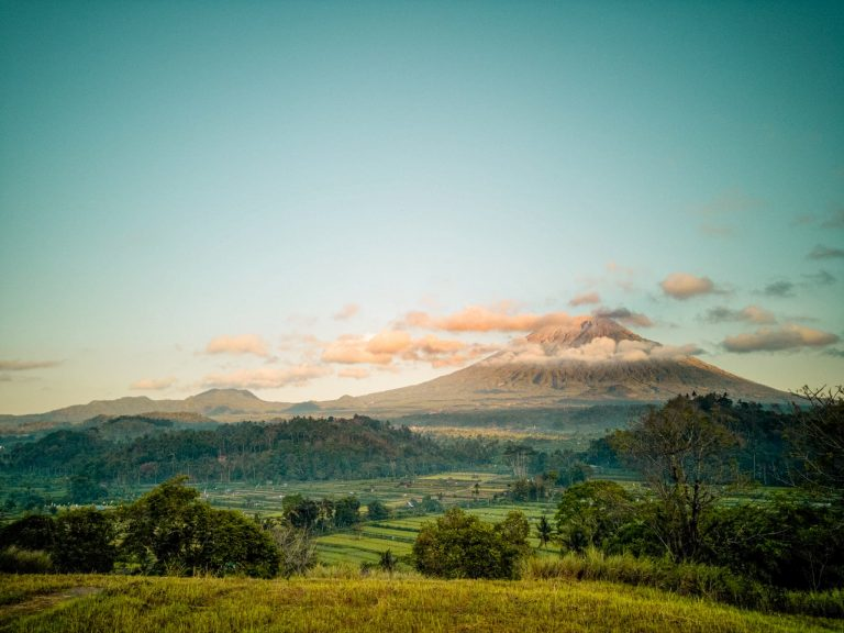Things To Do in Amed & East Bali view over Mount Agung from Bukit Cinta The Travel Deck