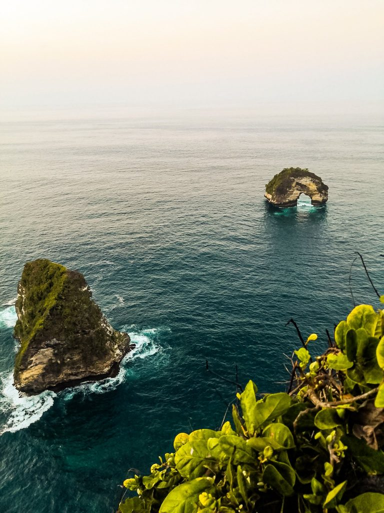 Banah Cliff Point Things To Do Nusa Penida from secret spot The Travel Deck