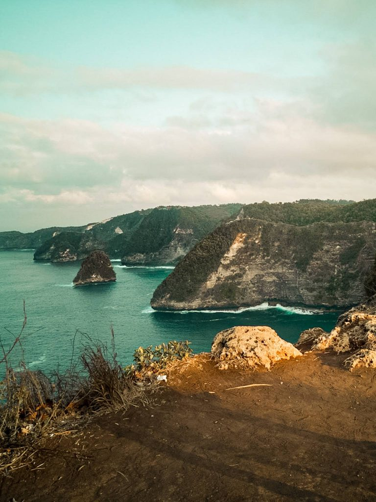 Banah Cliff Point Sunset Viewpoint Nusa Penida The Travel Deck