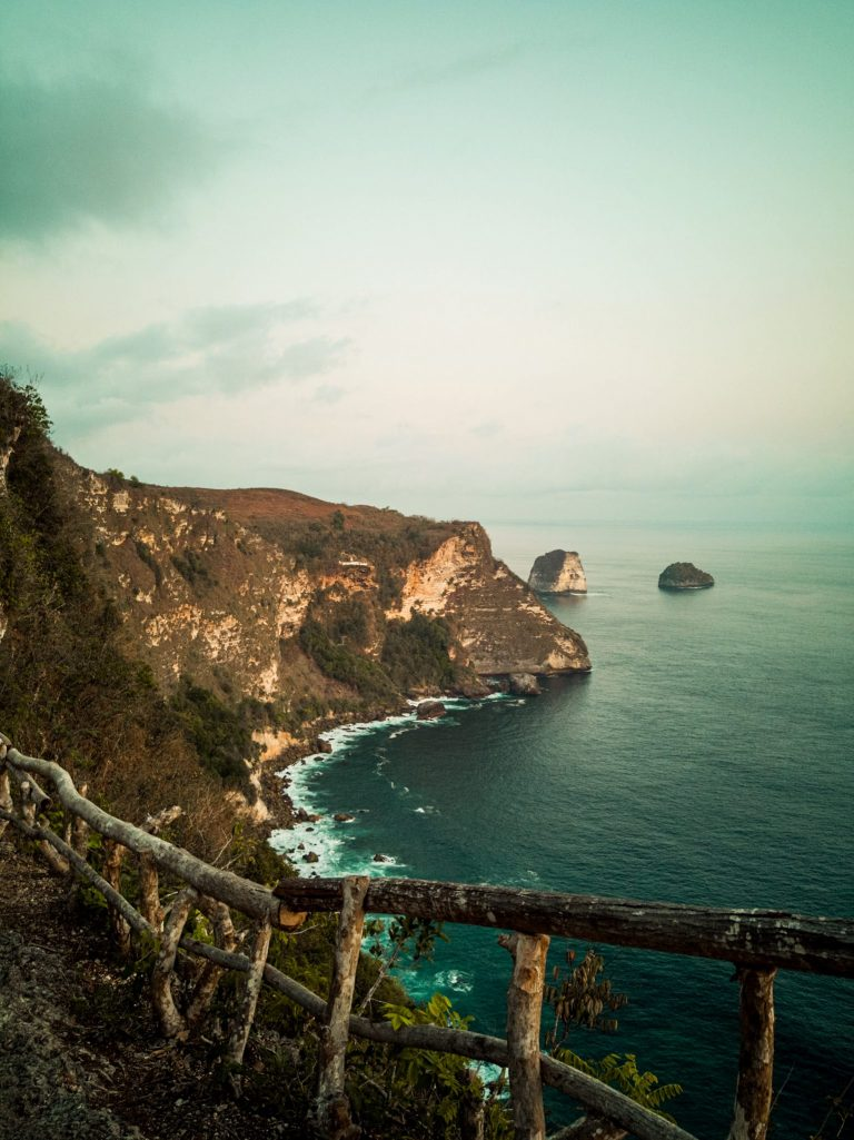 Cliff side view from Peguyangan
