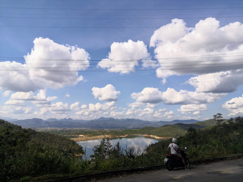 Amazing view on the way to Chaing Rai from Sticky Waterfalls