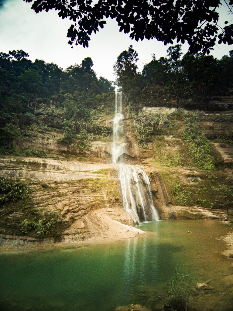 Finally we reached Can-Umantad falls
