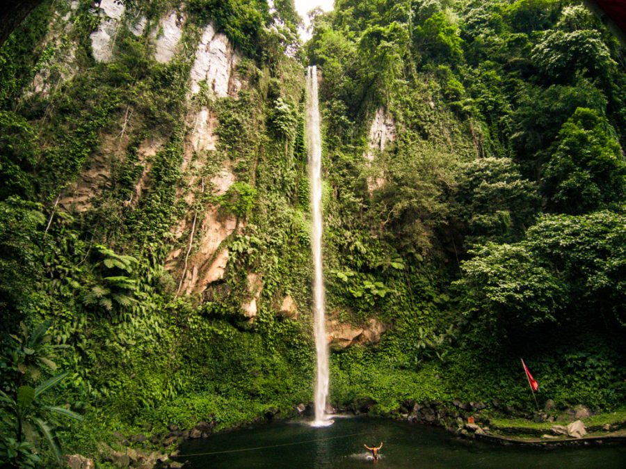 You are currently viewing Katibawasan Falls | The Most Popular Waterfall on Camiguin, Philippines