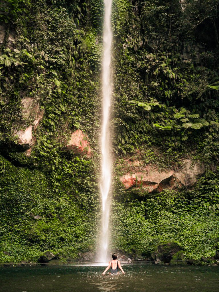 Katibawasan is an amazing waterfall. It just so happens to be very close to the tourist area in Mambajao