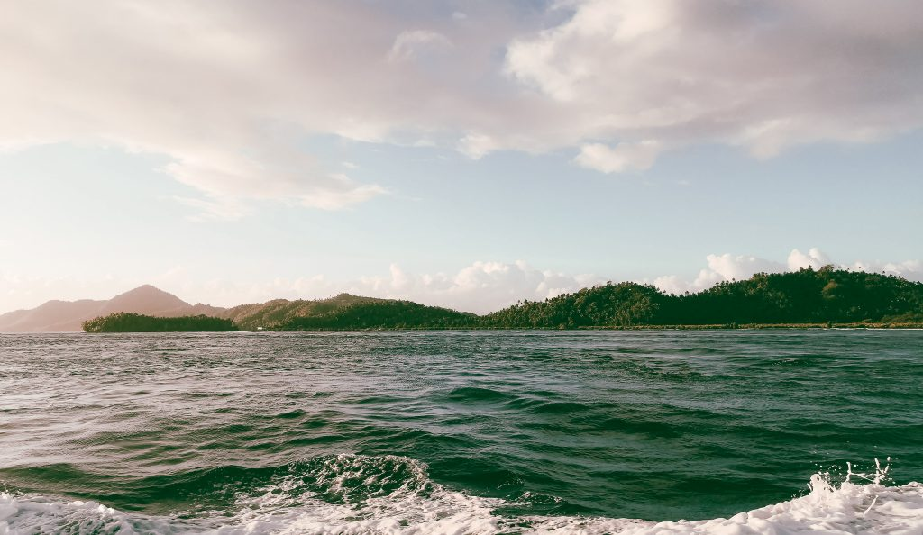Islands along the seas from Surigao to Siargao that surround Siargao