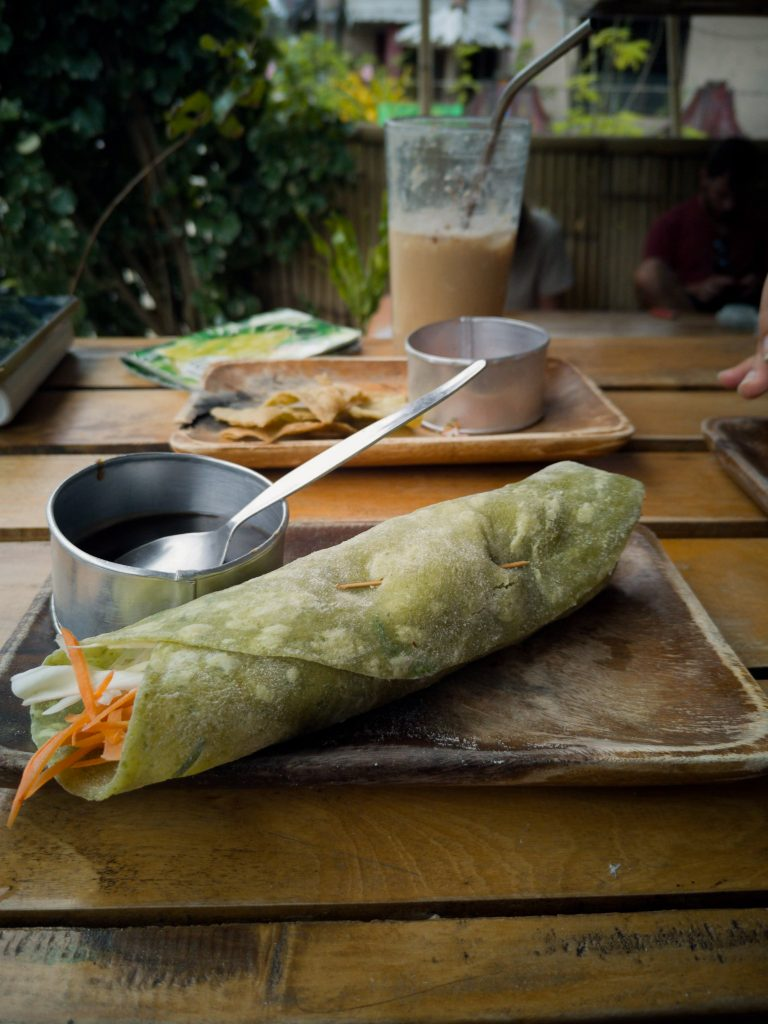 The vegan wrap at Lokal is one this cafes all time favourites