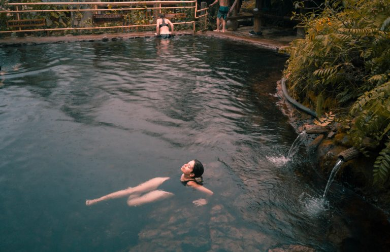Red Rock Hot-Springs in Valencia   Dumaguete Tourist Attractions