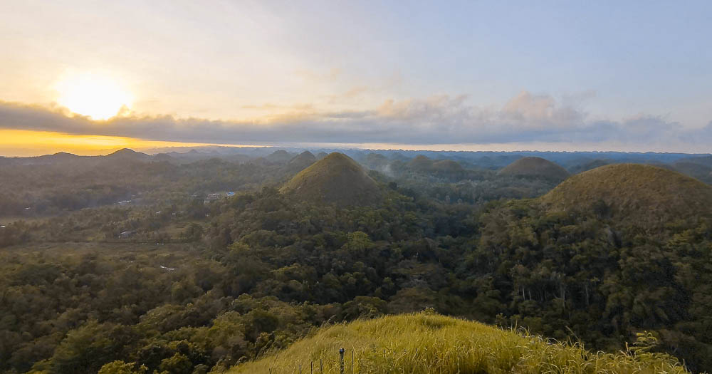 Chocolate Hills viewpoint