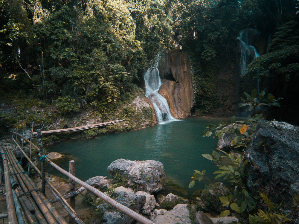 You are currently viewing PAHANGOG FALLS   TWIN WATERFALL IN BOHOL