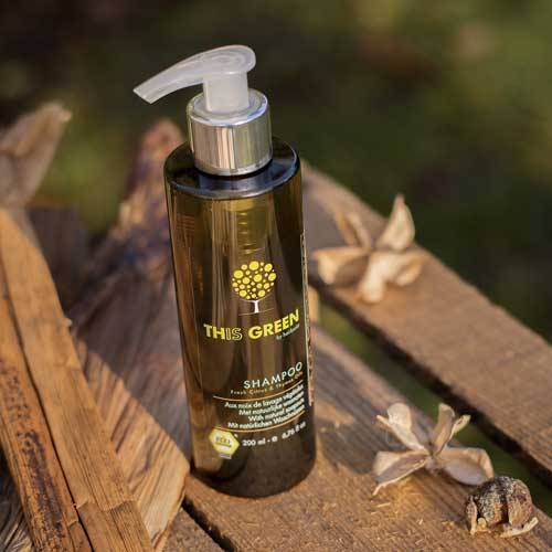 Color protection shampoo with soapnuts -This Green