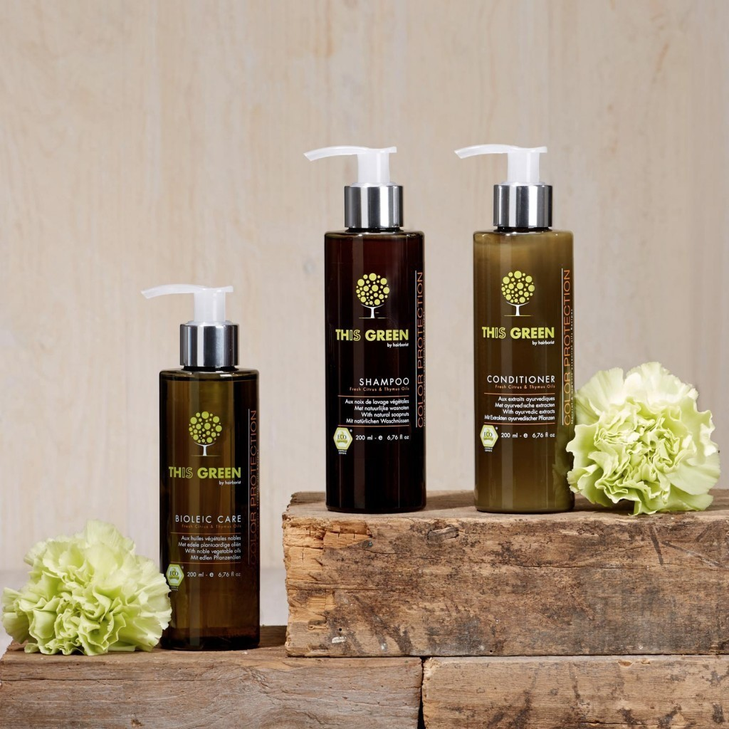 Professional hair care for all private consumers and hair salons - organic hair cosmetics