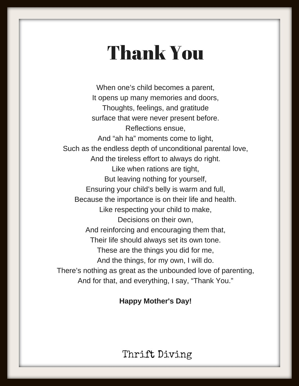 Mothers Day Poems That Make You Cry 1