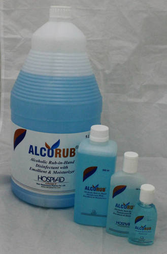 Alcorub Antiseptic Hand Sanitizer At Best Price In New Delhi