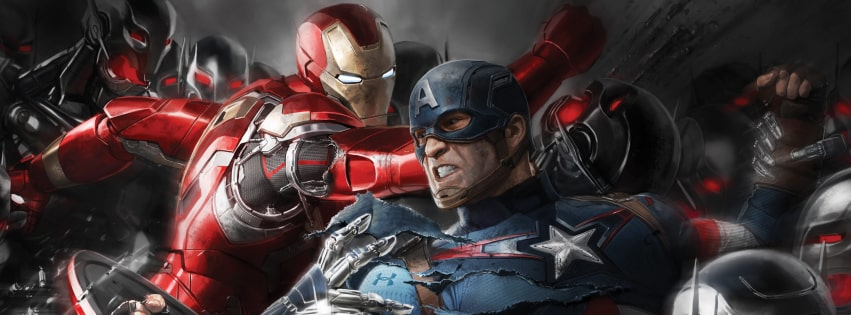 Avengers Age of Ultron Marvel Facebook cover photo