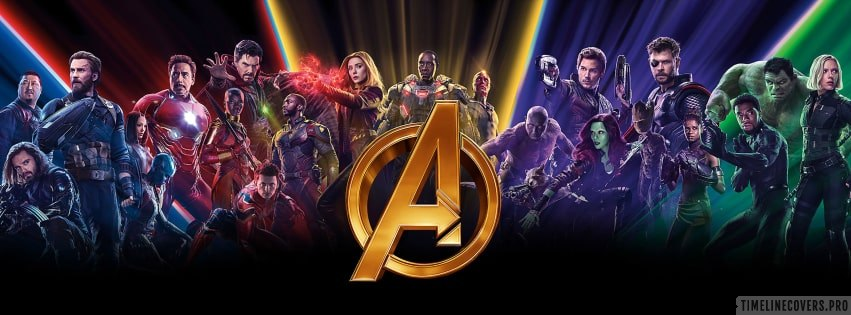 Avengers Infinity War Marvel Movie Facebook cover photo