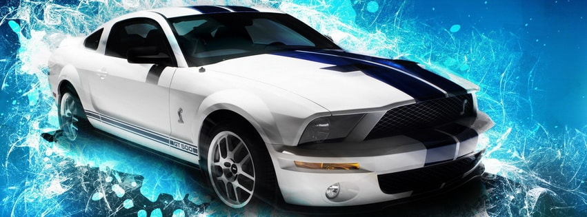 Mustang Shelby Gt500 Facebook cover photo