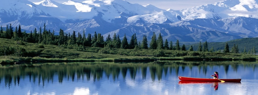Wonder Lake Alaska Facebook cover photo