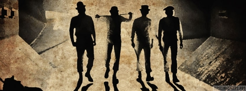 A Clockwork Orange Facebook cover photo