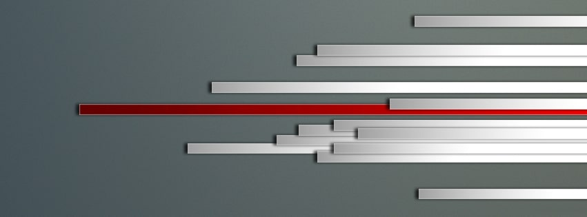 Abstract Lines Facebook cover photo