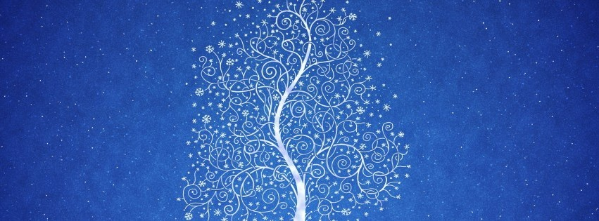 Abstract Tree Facebook cover photo
