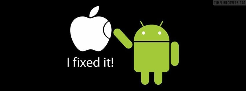 Android Fixed It Facebook cover photo