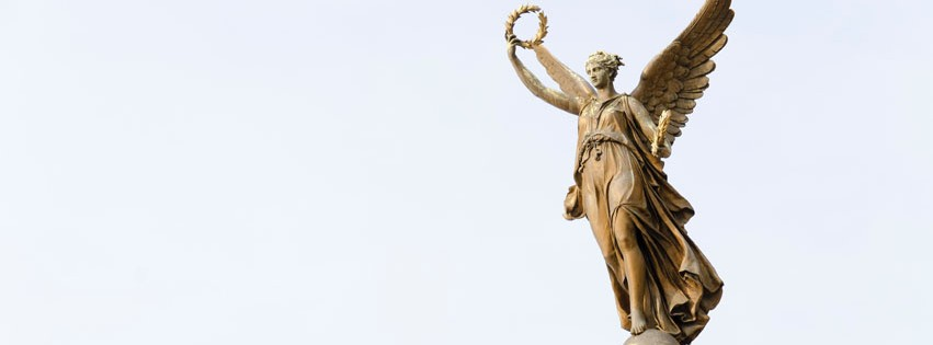 Angels Bring Justice Statue Facebook cover photo