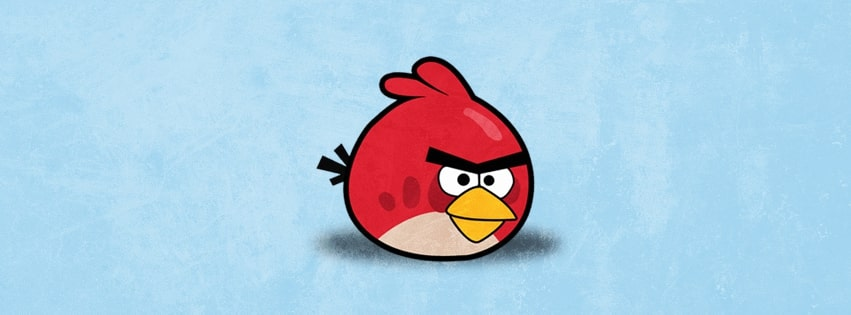 Angry Birds Red Facebook cover photo