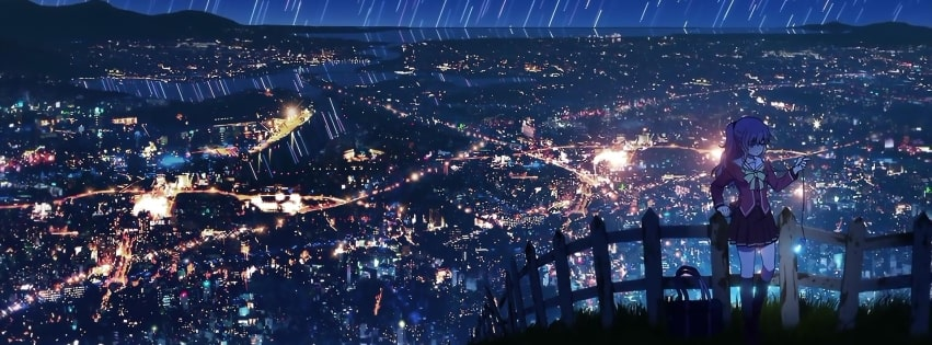 Anime Charlotte Facebook cover photo