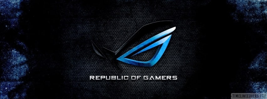 Asus Republic of Gamers Facebook cover photo