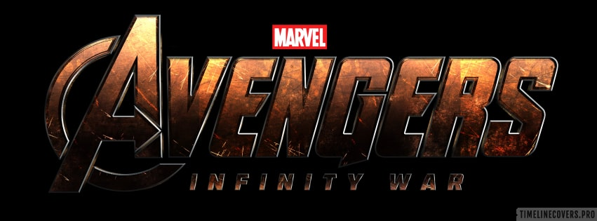 Avengers Infinity War Title Facebook cover photo