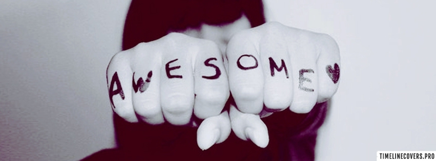 Awesome Fists Facebook cover photo