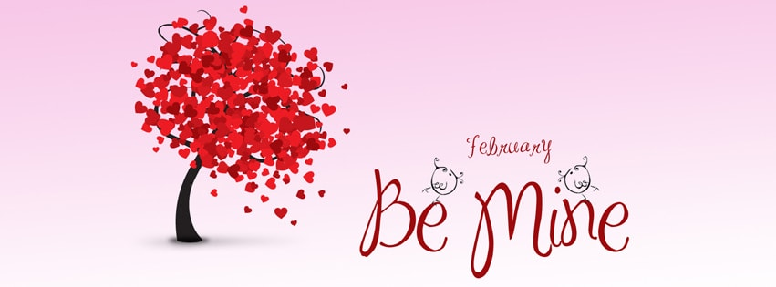 Be Mine Facebook cover photo