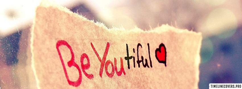 Be You Beautiful Facebook cover photo