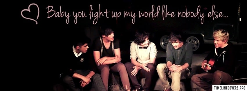 Beautiful One Direction Facebook cover photo