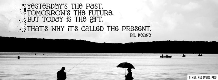 Bil Keane Quote Facebook cover photo
