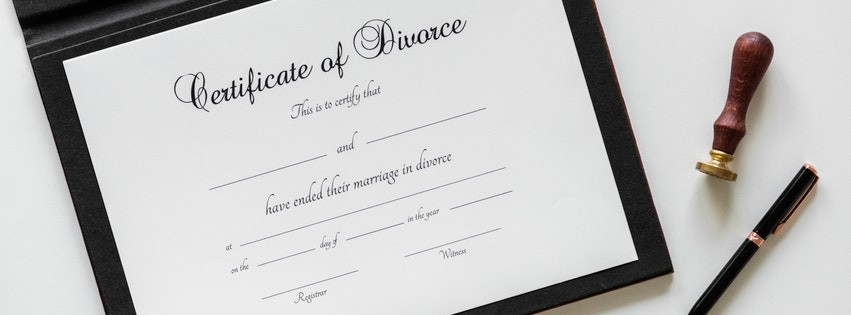 Certificate of Divorce Lawyer Facebook cover photo