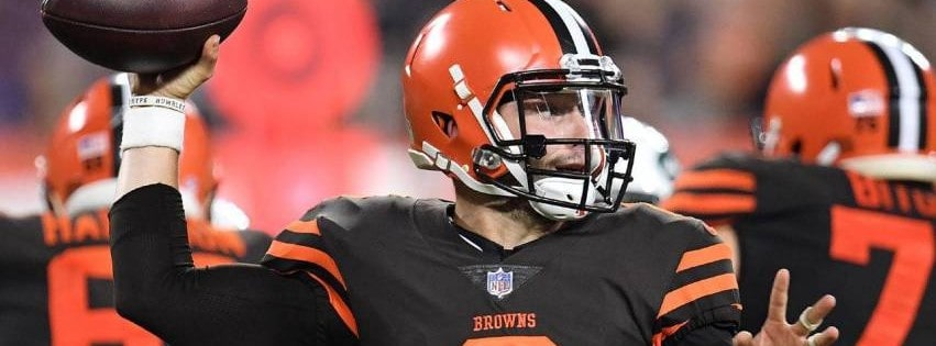Cleveland Browns Throw Facebook cover photo